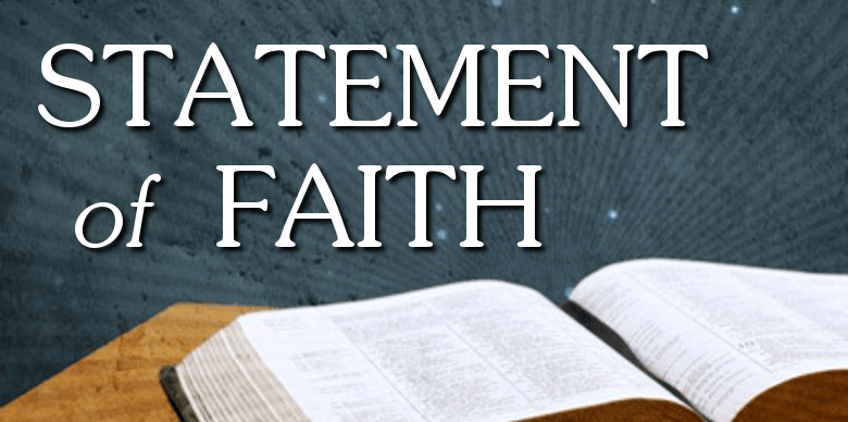 Statement of Faith and beliefs of John L. Rothra