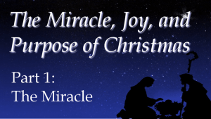 The Miracle of Christmas