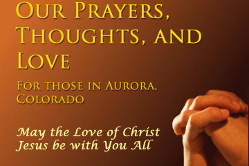 Prayer for those in Aurora, CO