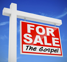 For sale, the gospel