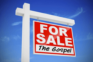 Jesus needs Servants, not Salesmen