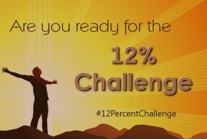 The #12PercentChallenge: Why Churches Should Strive for a Baptism Rate of 12%