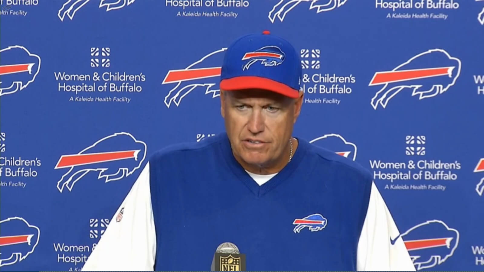 Buffalo Bills head coach Rex Ryan