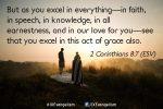 2 Corinthians 8:7