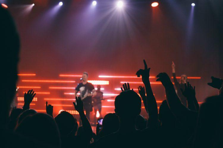 God enjoys hard rock music.