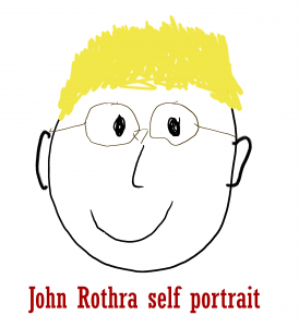 John Rothra self portrait
