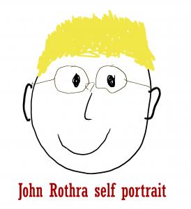 John Rothra self portrait