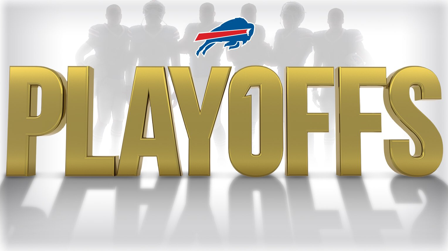 Buffalo Bills in Playoffs Logo