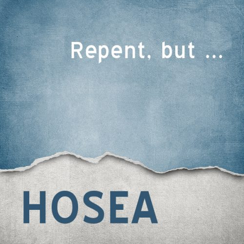 Repent, but...