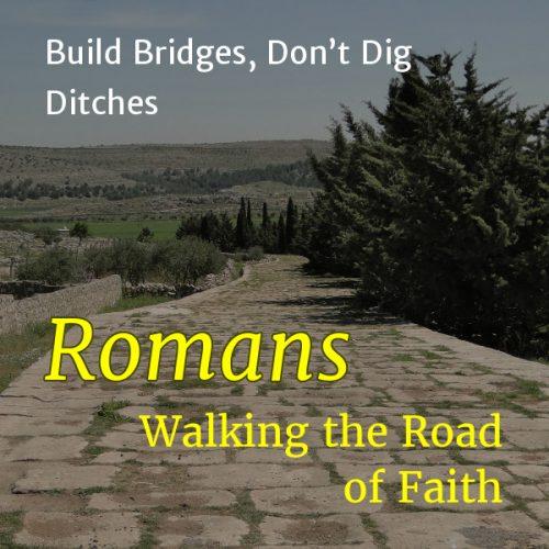 Build Bridges, Don't Dig Ditches
