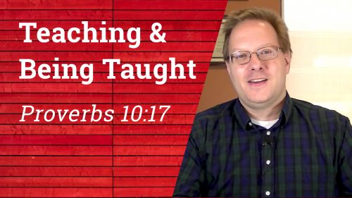 Teaching and Being Taught - Video Thumbnail