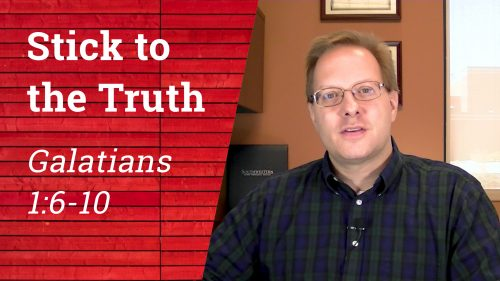Stick to the Truth - YouTube Thumbnail