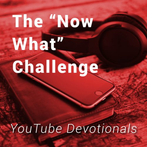 The 'Now What' Challenge