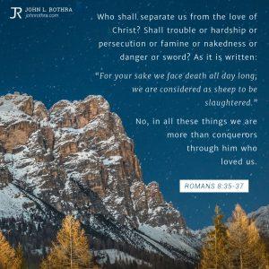Romans 8:35-37