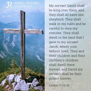 Ezekiel 37:24-25