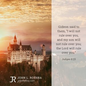 Judges 8:23