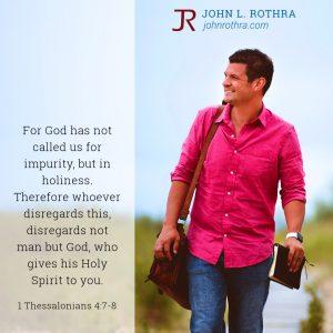 1 Thessalonians 4:7-8