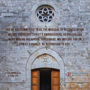 2 Corinthians 5:19b-20
