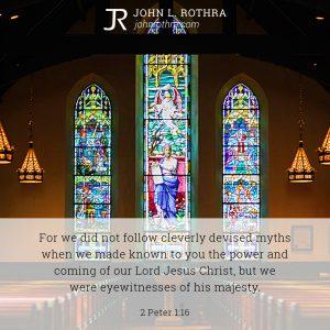 2 Peter 1:16