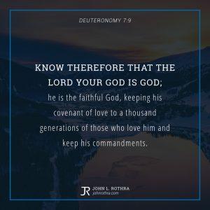Deuteronomy 7:9
