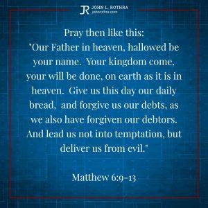 Mathew 6:9-13