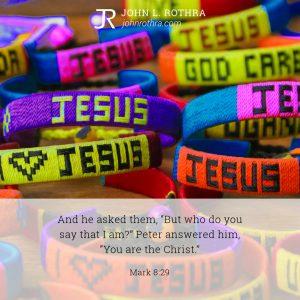 Mark 8:29