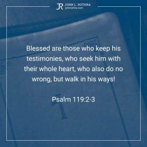 Psalm 119:2-3
