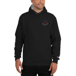Men's Champion Hoodie: Logo & Know Show Share Slogan
