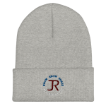 Cuffed Beanie: Logo & Know Show Share Slogan