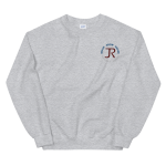 Unisex Sweatshirt: Logo & Know Show Share Slogan