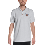 Men's Polo Shirt: Logo & Know Show Share Slogan