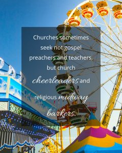 quote meme about leadership with carnival rides and ferris wheel
