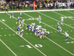 Buffalo Bills vs Dallas Cowboys Thanksgiving 2019 at AT&T Stadium