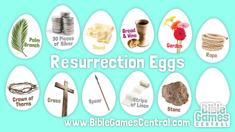 Resurrection Eggs at BibleGamesCentral.com