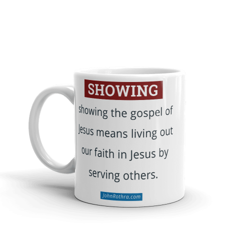 11 ounce coffee cup with showing definition