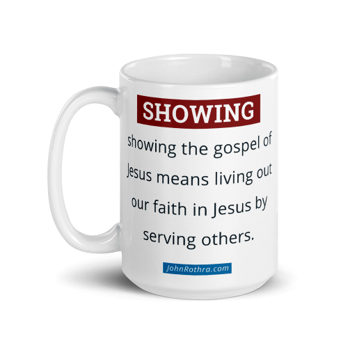 15 ounce coffee cup with showing definition