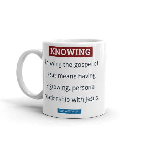 11 ounce coffee cup with knowing definition