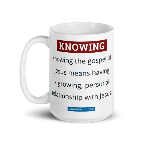 15 ounce coffee cup with knowing definition