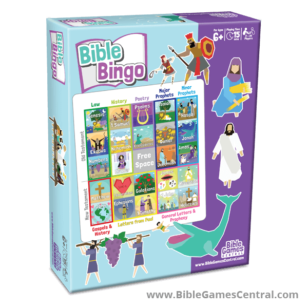 BIble Bingo by Bible Games Central