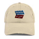 Distressed Dad Hat: Know Show Share Geometric