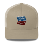 Trucker Cap: Know Show Share Geometric