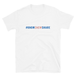 Short-Sleeve T-Shirt: #KnowShowShare (color text)